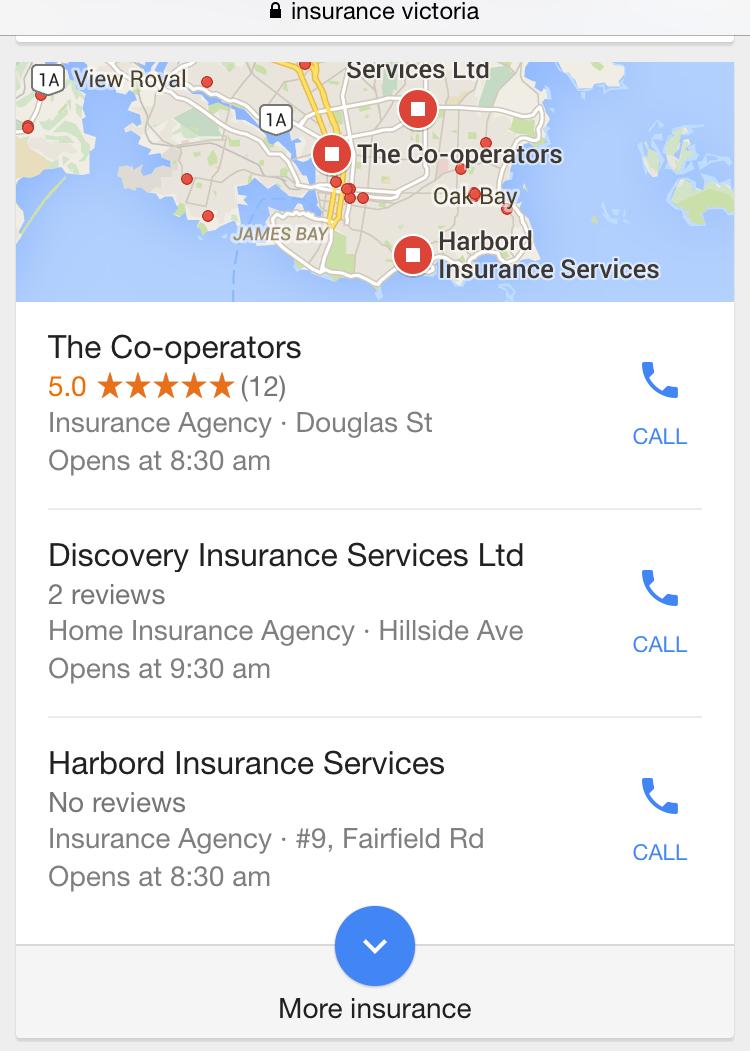 local search mobile